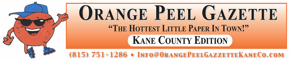 Orange Peel Gazzette Kane County
